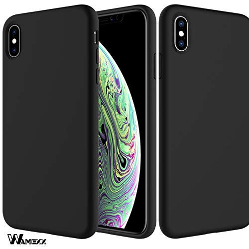 Wamexx iPhone X iPhone Xs Case Silicone, Protective Cover with Soft Scratch-Resistant Full Body for Apple iPhone Xs Case and Full Body for Apple iPhone X Case - Sunflowers 24h