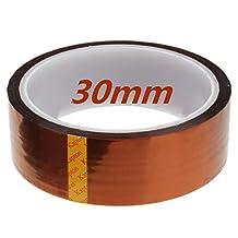 Sonline 30mm 33m 100ft Kapton Tape High Temperature Heat Resistant Polyimide