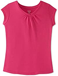 Girls' Short Sleeve V-Neck T-Shirt