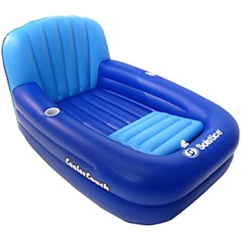 Solstice by swimline aqua sofa with instaflate for Coole couch