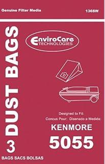 Kenmore Vacuum Bags 50558: Kenmore//Sears Style C or Q 20-50557 /& 20-50558 1-ply Vacuum Cleaner Bags // 3 Pack with Kit Vacuum Bags w//Kit 20-5055