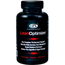 HFL | Lean Optimizer | Weight Loss, Fat Burner, Appetite Control, Increases Metabolism | Green Coffee Bean, 5-HTP, Theobromine, L-Tyrosine Ethyl Ester, Yerbe Mate, Higenamine HCL, Forskolin Extract
