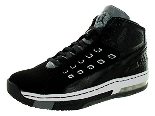 Cool Jordan Shoes - Nike Jordan Mens Jordan OlSchool Black/White/Cool Grey Basketball Shoe 12 Men US