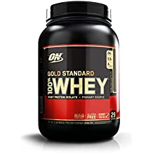 OPTIMUM NUTRITION GOLD STANDARD 100% Whey Protein Powder, Double Rich Chocolate 2LB