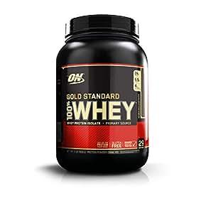 OPTIMUM NUTRITION GOLD STANDARD 100% Whey Protein Powder, Double Rich Chocolate 2 Pound