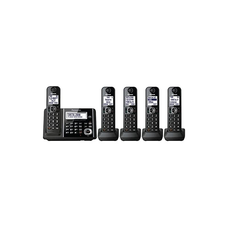 Panasonic Expandable KX-TGF345B Cordless