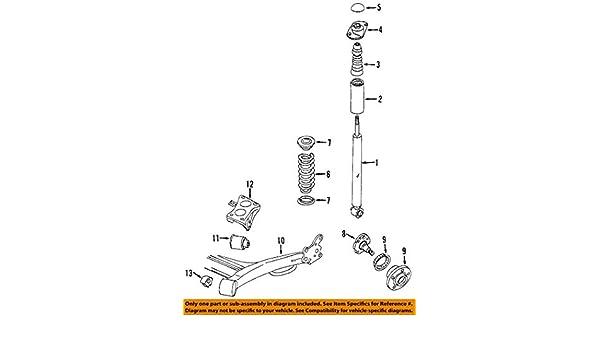 Amazon.com: Volkswagen 6R0 501 541 A, Suspension Control Arm ...