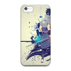 IanJoeyPatricia Apple Iphone 5c High Quality Hard Cell-phone Cases Custom High-definition Naruto Sasuke Series [hFJ27687VsGx]