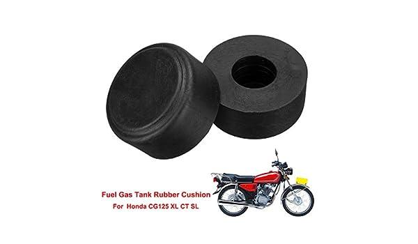 2pcs For Honda Vintage CG125 CT XL SL TL Motorcycle Gas Fuel Tank Cushion Mount Oil Tank Gasket Sala-Ctr