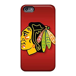 LauraAdamicska Apple Iphone 6 Shock Absorbent Cell-phone Hard Cover Provide Private Custom Attractive Chicago Blackhawks Series [bXw7195RZUH]