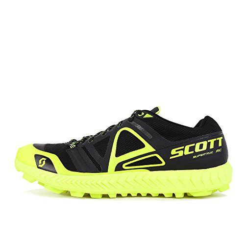 Scott Supertrac RC Black Yellow Nero