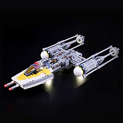 LIGHTAILING Light Set for (Star Wars Y-Wing Starfighter) Building Blocks Model - Led Light kit Compatible with Lego 75172(NOT Included The Model): Toys & Games