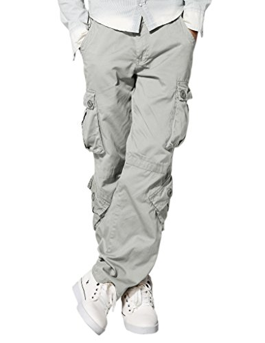 Pockets Mens Casual Pants - 3