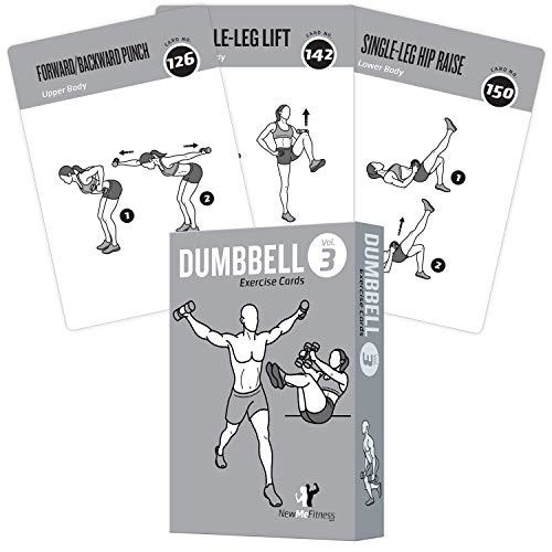Exercise Cards Dumbbell Home