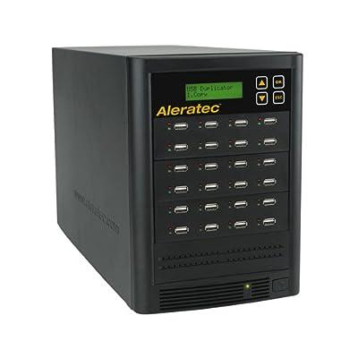 Image of Aleratec Direct V2 USB HDD Copy Tower Duplicator Optical Drives 330121 Black Disc Duplicators