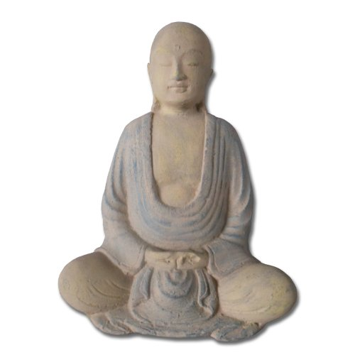 Japanese Buddha Statues - Japanese Style Buddha, Handpainted, 8 Inches Tall
