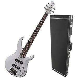 Yamaha TRBX505 TWH 5-String Active Translucent White Bass Guitar by Yamaha