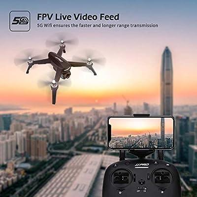 JHSHENGSHI GPS Wi-Fi RC Drone con Cámara 1080P HD, Gran Dron para ...