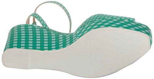 Cuña Verde Castañer Mujer de Zula Verde 24 125 Sandalias xC4qnFw84r