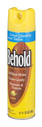 Behold Furniture Polish Lemon 12.5 OZ (Pack of 24) by Behold (Image #1)