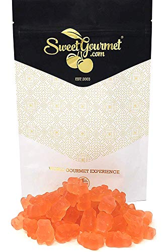SweetGourmet Gummy Candy | Tropical Pink Grapefruit Gummi Bears | 1 ()