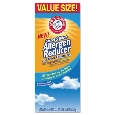 Arm & Hammer Carpet & Room Allergen Reducer & Odor Eliminator, 42.6-oz. Shaker Box - Room Allergen Reducer