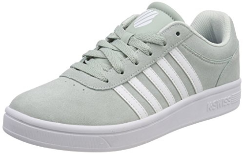 Court K Hushed SDE Swiss Green White Grün Damen Sneaker Cheswick wrE61xBwq
