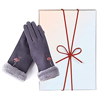 50th/60th Birthday Gifts for Women,Suede Glove-Unusual Gifts for Confirmation Sponsor/Resignation/Coworker Leaving/Retirement/Encouragement/Coach/Friendship