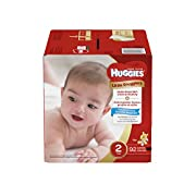 Huggies Little Snugglers Baby Diapers, Size 2, 92 Count, GIGA JR PACK (Packaging May Vary)