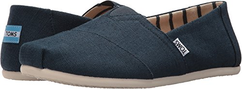 TOMS Men's Venice Collection Alpargata Majolica Blue Heritage Canvas 7 D US D (M)