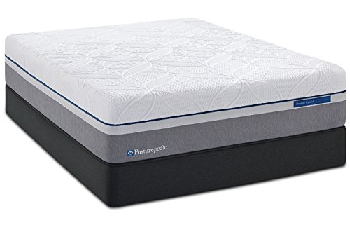 King Sealy Posturepedic Hybrid Copper Cushion Firm Mattress Set with Regular Foundation - Sealy Posturepedic Box Spring