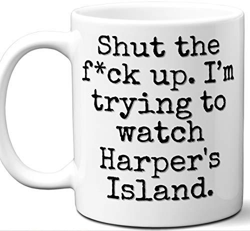 Harper's Island Gift Mug. Funny Parody TV Show Lover Fan