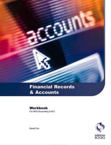 Financial Records and Accounts Workbook : Aat/Nvq Accounting