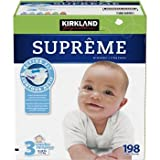 Kirkland Baby Diapers Best Deals - Kirkland Diapers - Size 3 - 198 ct