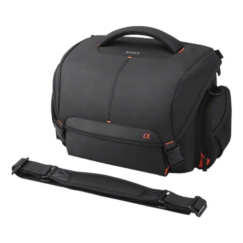Sony LCSSC8 Lightweight System Case for Alpha DSLR Camera and Lenses - Black by Sony