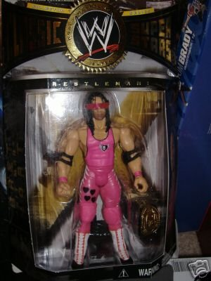 WWE Classic Superstars Collector Series Figure: Bret The Hitman Heart