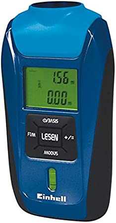 Einhell medidores–Telémetro de ultrasonidos BT de UEM 16