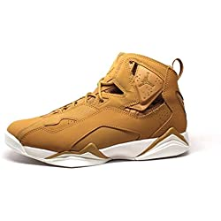 Nike Jordan Men's Jordan True Flight Golden Harvest/Golden Harvest Basketball Shoe 12 Men US