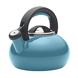 Circulon 1-1/2-Quart Sunrise Teakettle, Capri Turquoise