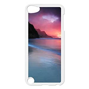 ZK-SXH - Aztec Sunset Diy Cell Phone Case for iPod Touch 5, Aztec Sunset Personalized Case