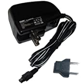 HQRP Wall AC Adapter for Sony HandyCam DCR-DVD304 DCR-DVD304E DCR-DVD305 Camcorder Power Supply Cord + Euro...