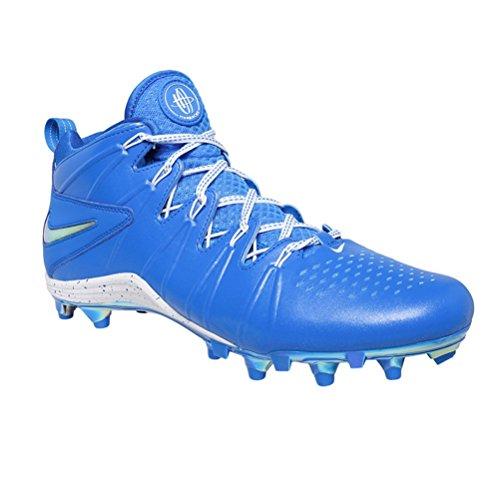 Nike Mens Huarache 4 Lax Lacrosse Tacchetti Blu