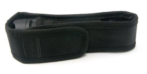 UltraFire Medium Flashlight Holster Belt Carry Case fits Ultrafire 501b, 502b, C8 Flashlights, Classic (Tactical Belt Flashlight Holster)