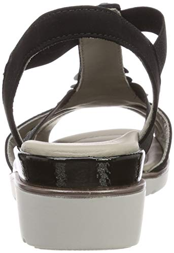 Silber Salomés 1235705 iron Femme schwarz 05 Ara Noir Lugano F6UqKYYP
