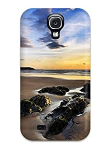 New Shockproof Protection Case Cover For Galaxy S4/ Woolacombe Sands Uk Case Cover