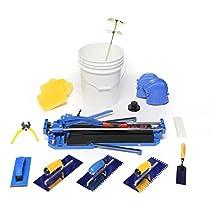 """RockMaster Complete Tile Setter Kit with Ishii 19"""" Tile Cutter"""