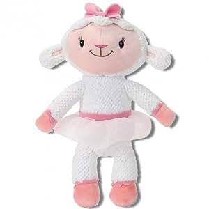 Simba Disney Doctora Juguetes - Peluche de Lanita Lambie Doc McStuffins 30cm