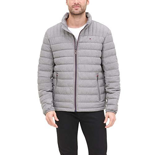 Tommy Hilfiger Men's Ultra Loft Lightweight Packable Puffer Jacket (Standard and Big & Tall)