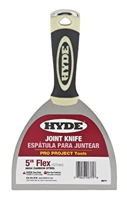 Hyde Tools 06771 Pro 5-Inch Flexible Joint Knife, Project Tool