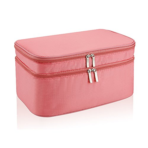 Toiletry Bag, Winblo Portable Travel Organizer Cosmetic Bag Makeup Bag for Women Shaving Kit for Men Toiletry Kit Organizer for Travel Accessories (Pink Lady Accessories)
